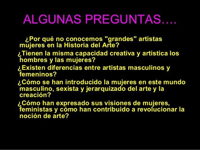 8 de marzo, día de la mujer. mujer e historia del arte Slide 2