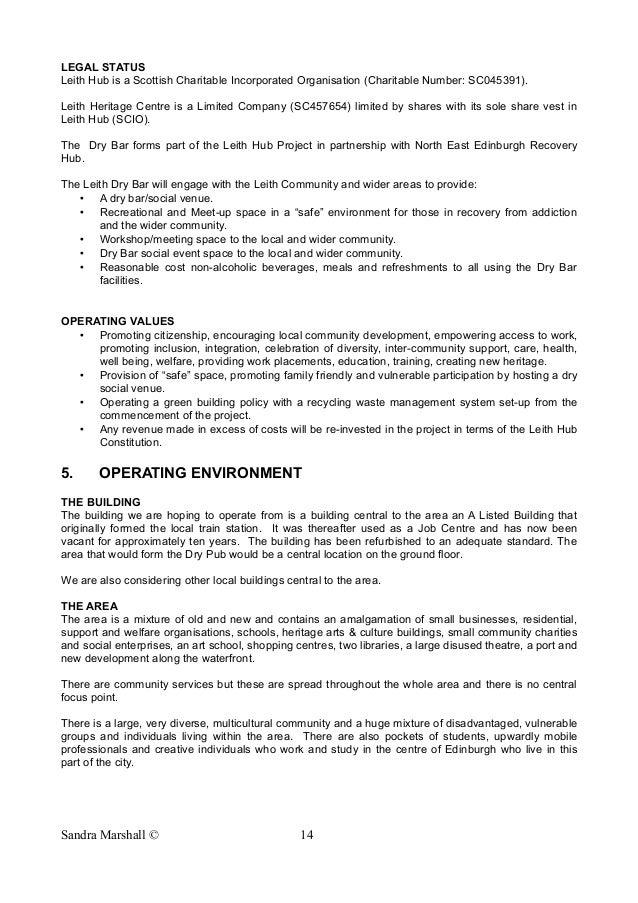 Dfe business plan