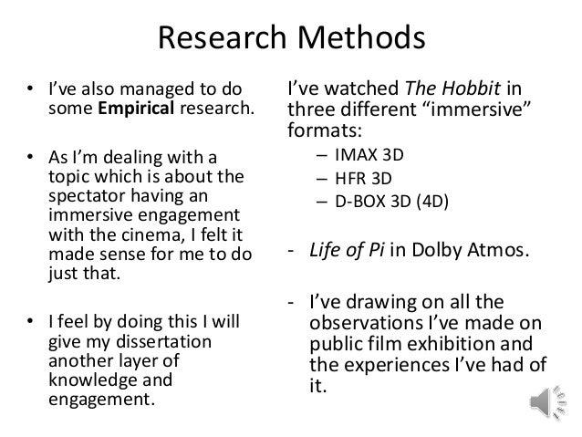 How to Write an A + Non-Empirical Dissertation