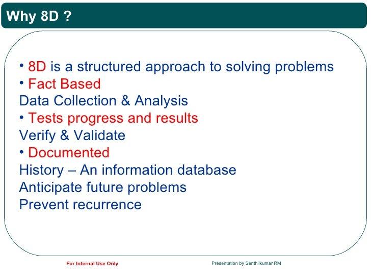 8D _ Problem Solving  Slide 3
