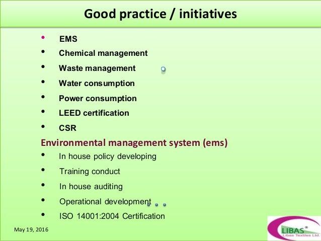 Presentation of LIBAS TEXTILES LTD