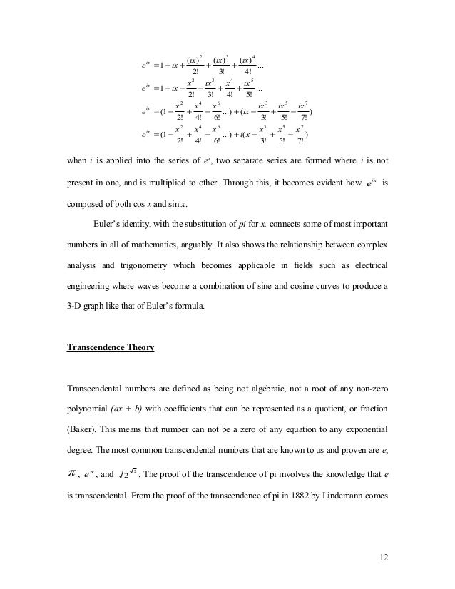 trigonometry extended essay The history of trigonometry is one type of mathematics that deals with the sides and the angles in the first paragraph i would like to explain the main.