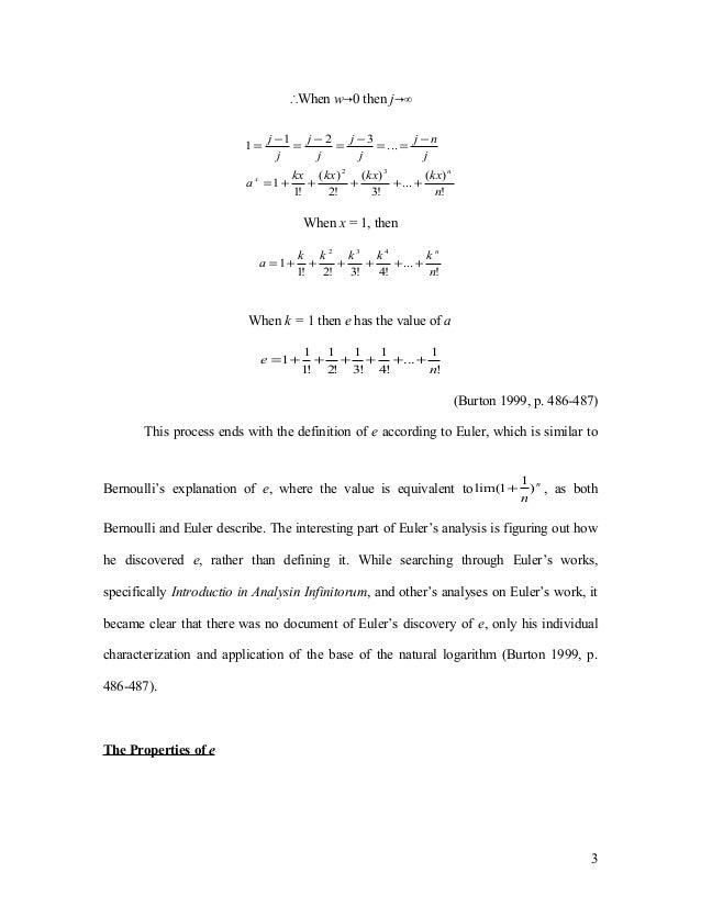 ib extended essay mathematics