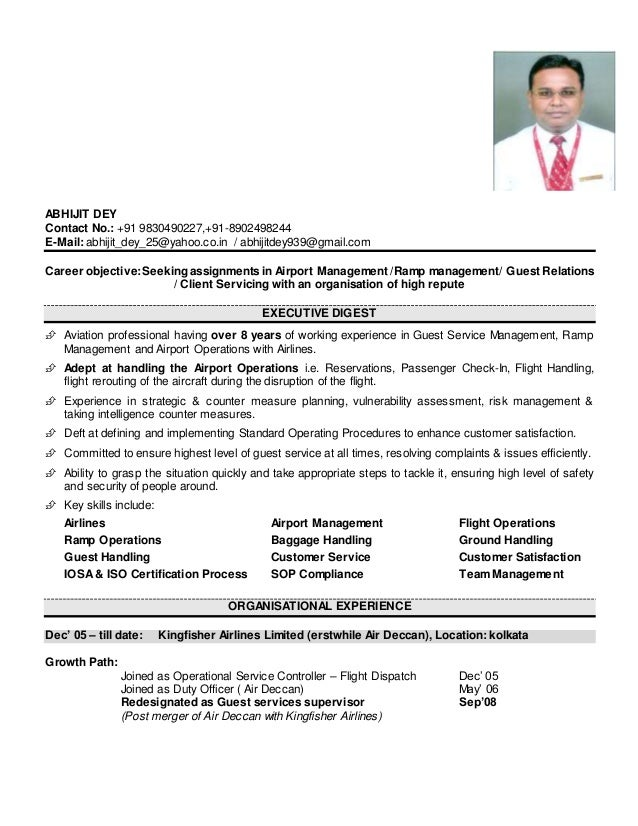 resume abhijit