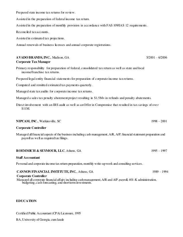 functional resume tax preparer results http www resumecareer info