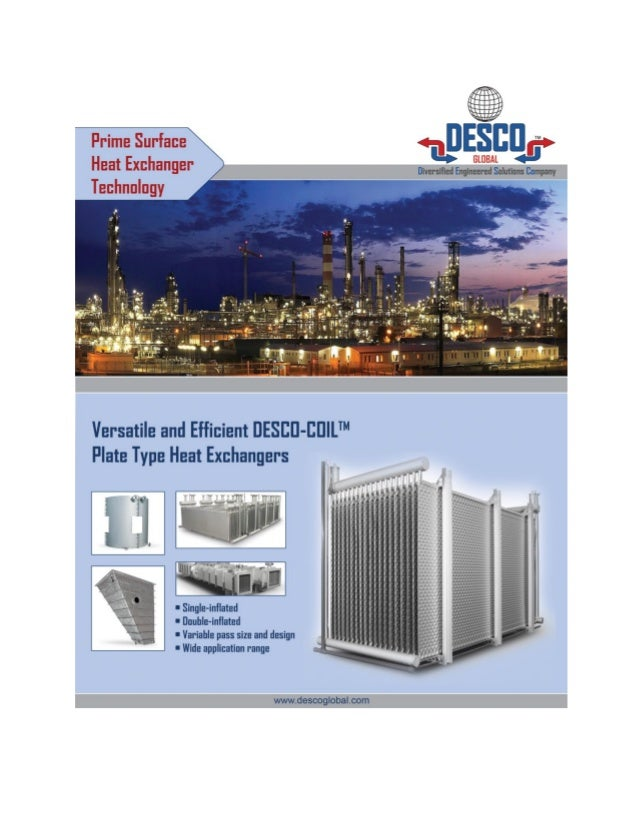 DESCO-COIL Heat Exchanger