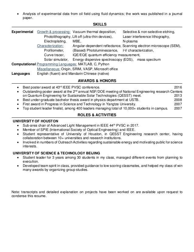 Luxury Center For Sustainable Energy Resume Photo - Administrative ...