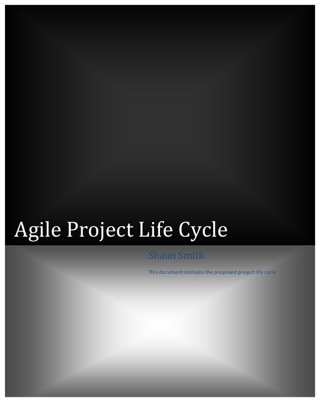 Agile  Project  Life  Cycle                                                     ...