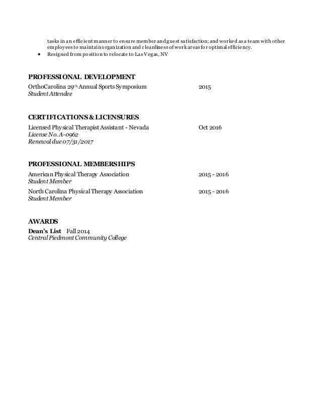 Pta Resume | Resume Cv Cover Letter
