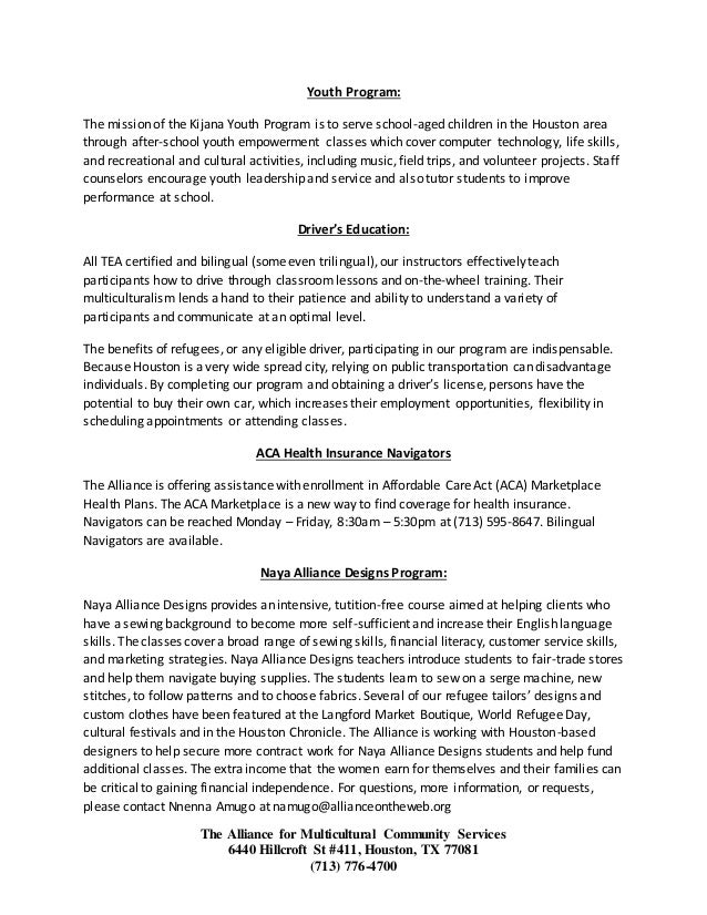 Cna Information Booklet