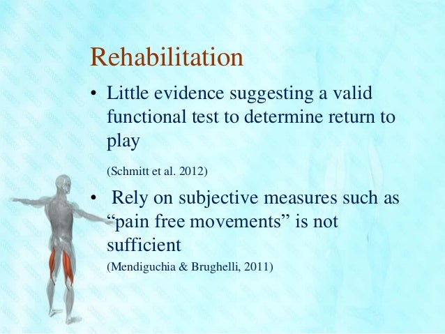 hamstring rehabilitation and injury prevention Despite the glowing evidence for nordic hamstring curls, new research has come to light that there may be even a bigger and better exercise for injury prevention and rehabilitation that players should be performing who are involved in sports that have a high incidence of hamstring strains and that.