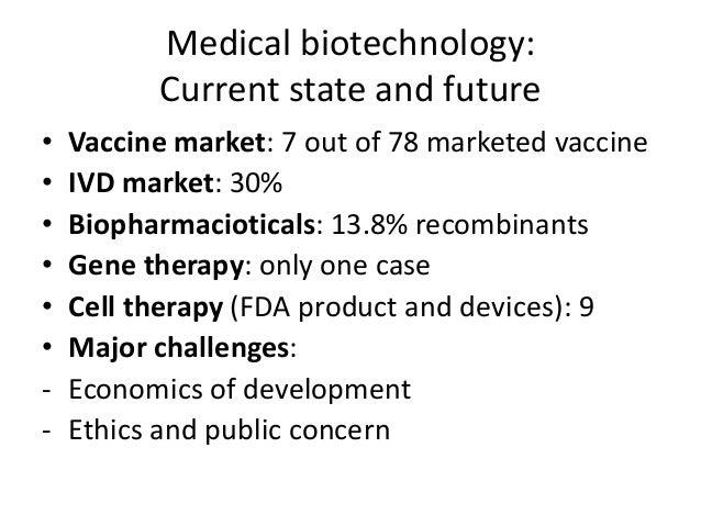Biotechnology And Medicine
