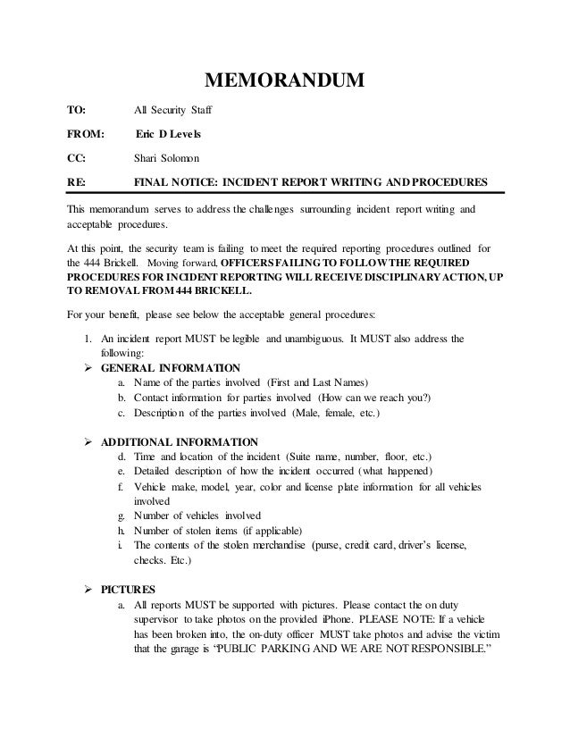 Incident Report Basic Fire Department Incident Report Incident