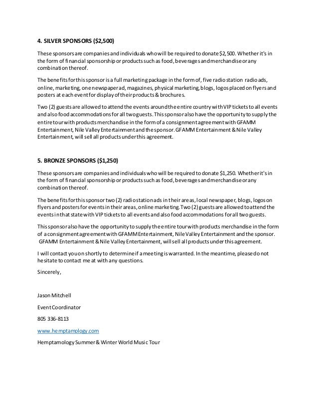 Sponsorship Proposal Letter Etamemibawa
