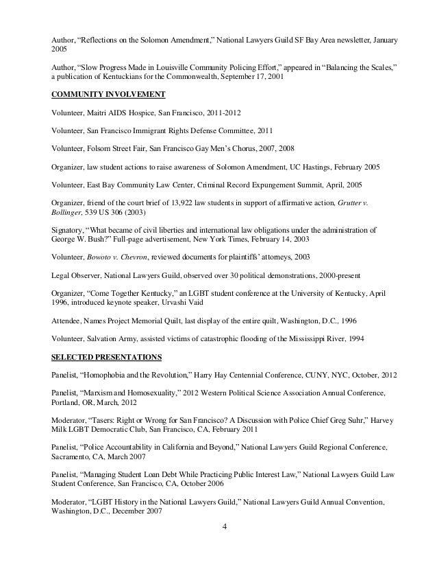 2014 attorney CV