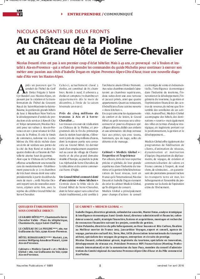 Article Nouvelles Publications Avril 2016