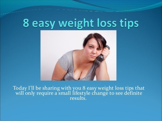 weight loss requires lifestyle changes