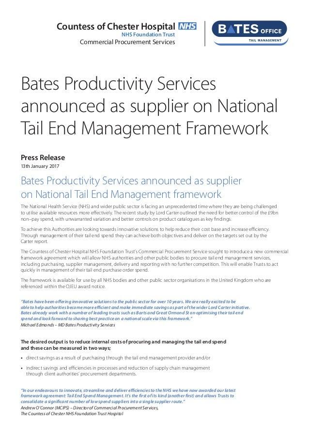 Bates Tail Management Press Release Jan 2017