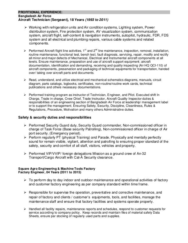 Resume to Engineer doc PDF