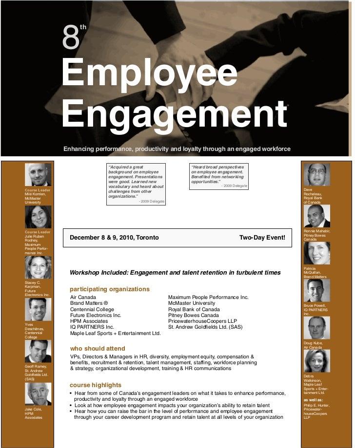 8                         th                   Employee                   Engagement                   Enhancing performan...