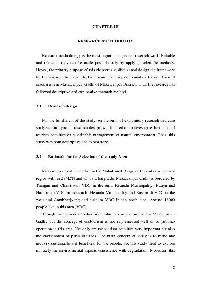 Thesis methodology pdf