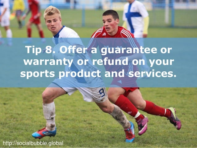 8 efficient online promotion tips for sports store business - 웹