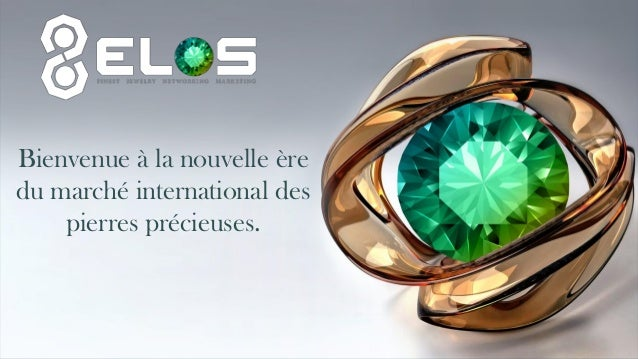 Bienvenue à la nouvelle ère du marché international des pierres précieuses.