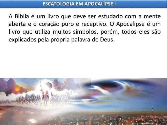 8 escatologia em apocalípse i Slide 3