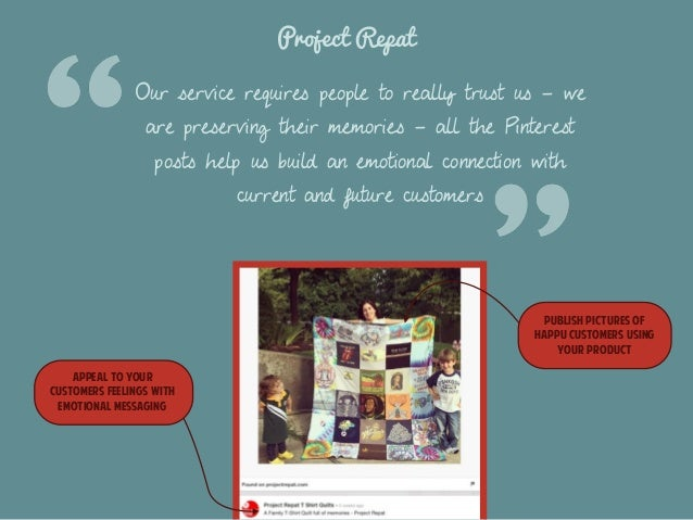 Project Repat  Our service requires people to really trust us - we  are preserving their memories - all the Pinterest  pos...
