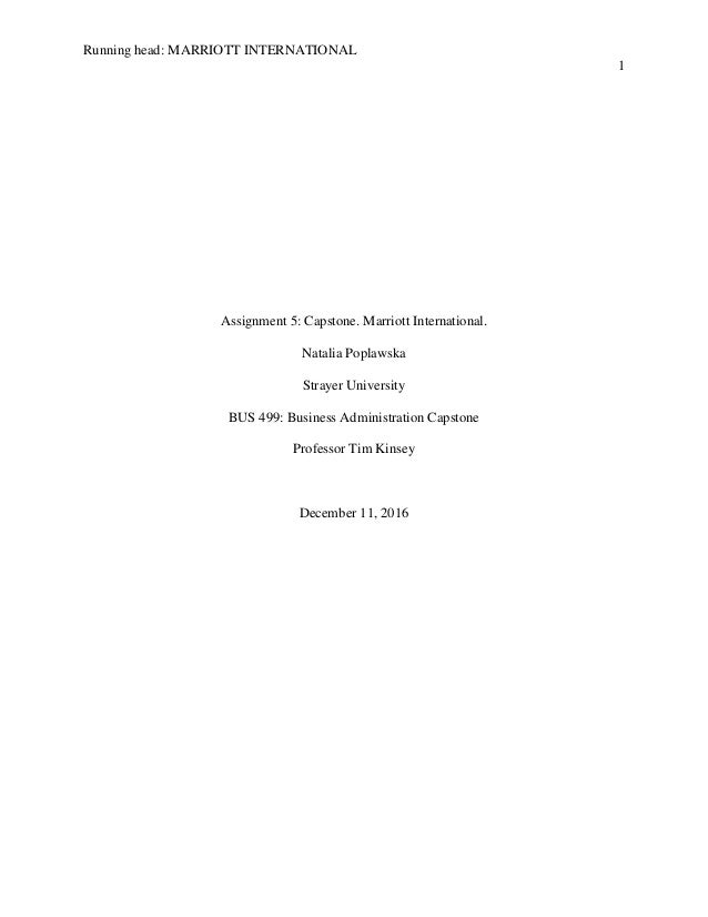 Capstone Project Writing Help
