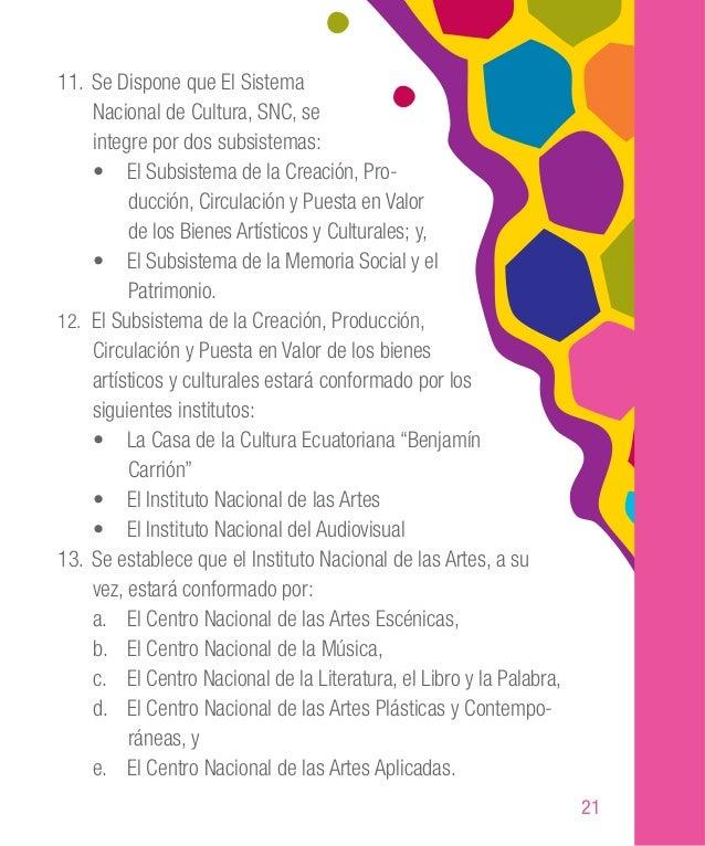 31 • Creación de Centros de Investigación Cultural democrá- ticos y descentralizados a nivel comunitario, provincial canto...