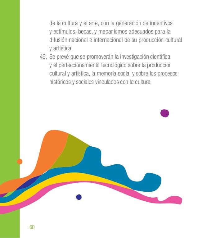 80 ancestrales, en tanto parte integrante de la soberanía y diversidad cultural ecuatoriana. 78. Se establece que el Minis...