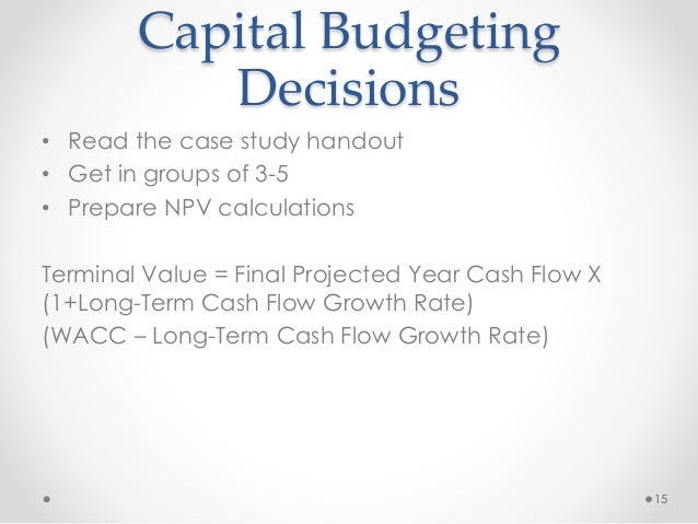 capital budgeting case studies Capital budgeting management of bharti airtel case study help, case study solution & analysis & capital budgeting management of bharti airtel case solution evaluate the implications of the company's capital budgeting decision for the future.