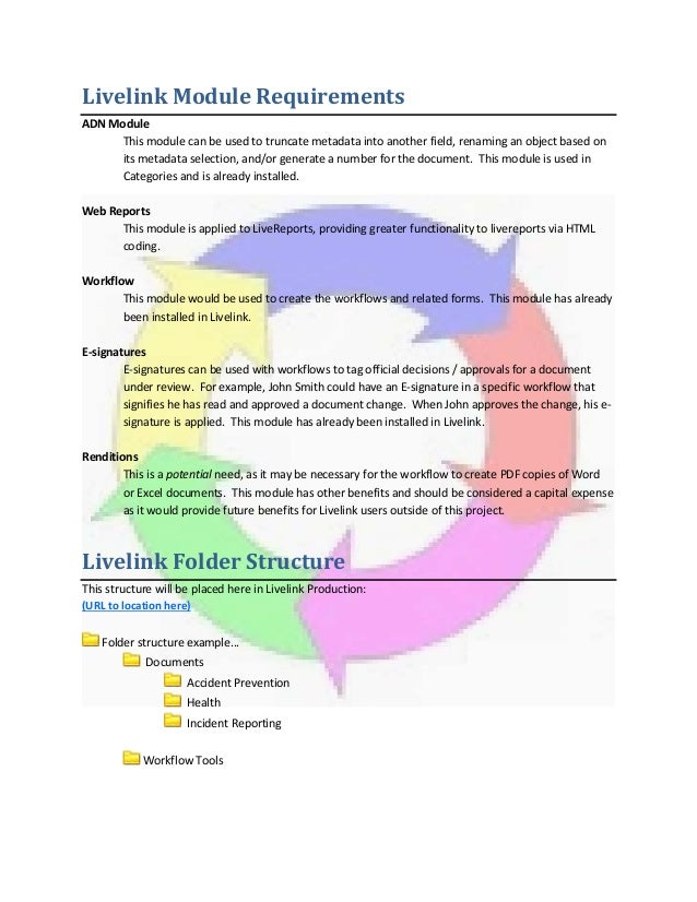 Creating a webform to initiate a workflow in livelink 9. Pdf | icon.