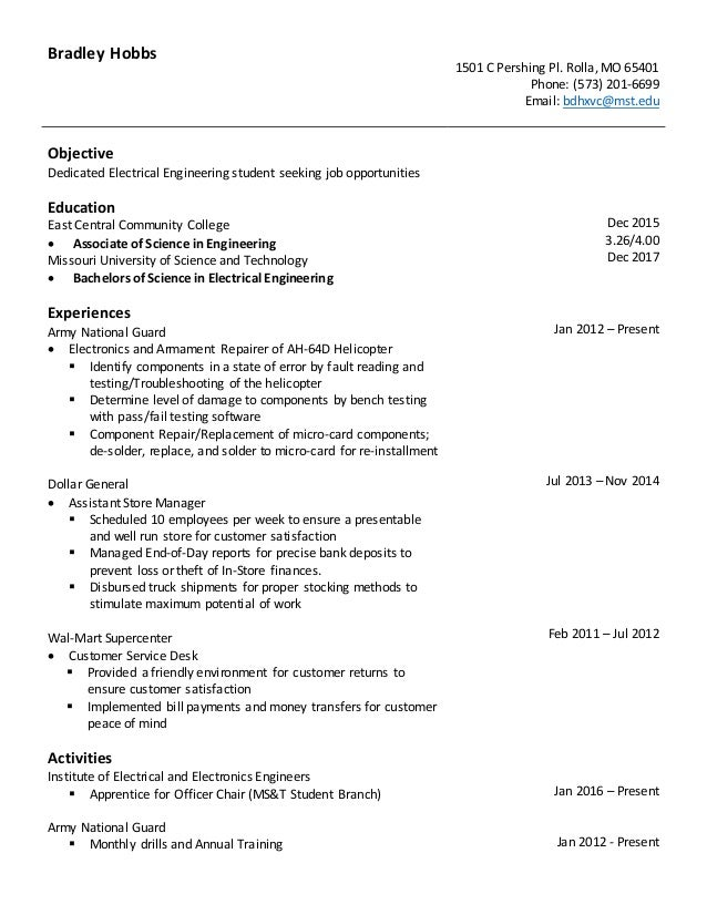 scannable resume how to