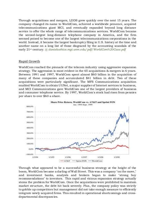WorldCom accounting scandal