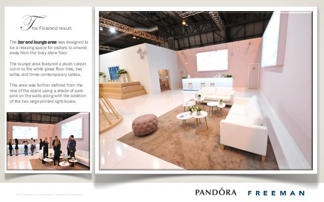 Exhibition Stall Case Study : Pandora exhibition stand case study toby davis