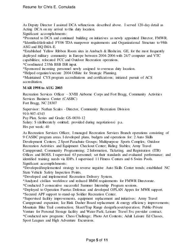 cec resume - revised 6 jan 2016