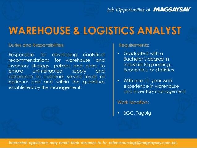 MGC Corporate Job Opportunities - 31 August 2016