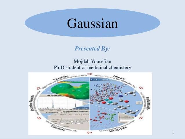 Gaussian presentation