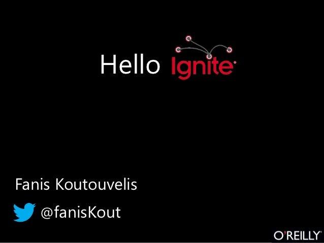 HelloFanis Koutouvelis   @fanisKout
