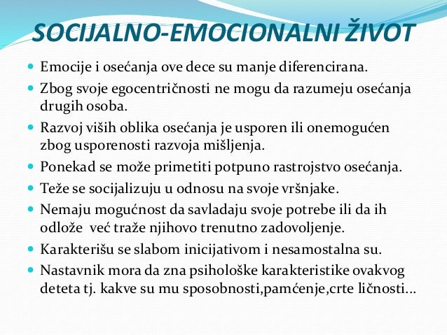 KATEGORIJE MENTALNE ZAOSTALOSTI  Psiholozi smatraju da su sve osobe čiji je količnik inteligencije manji od 70 mentalno r...