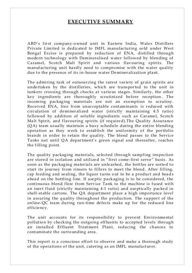 Industrial Project Report Slide 3