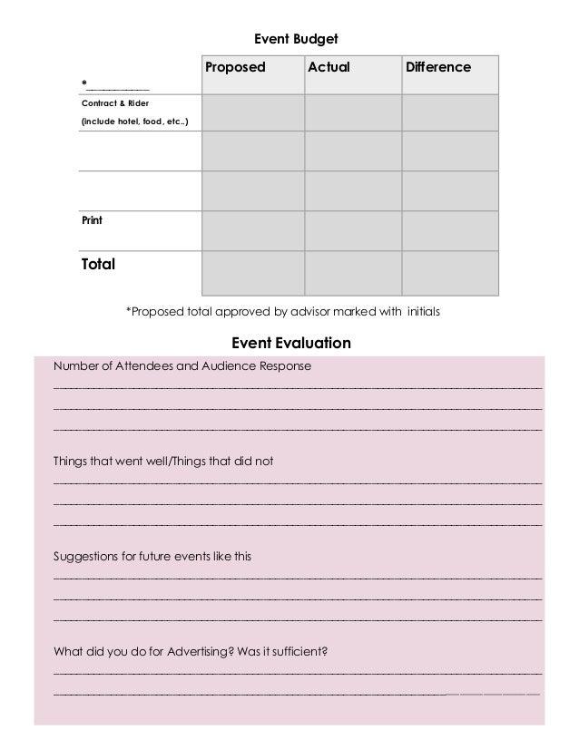 event planner 3
