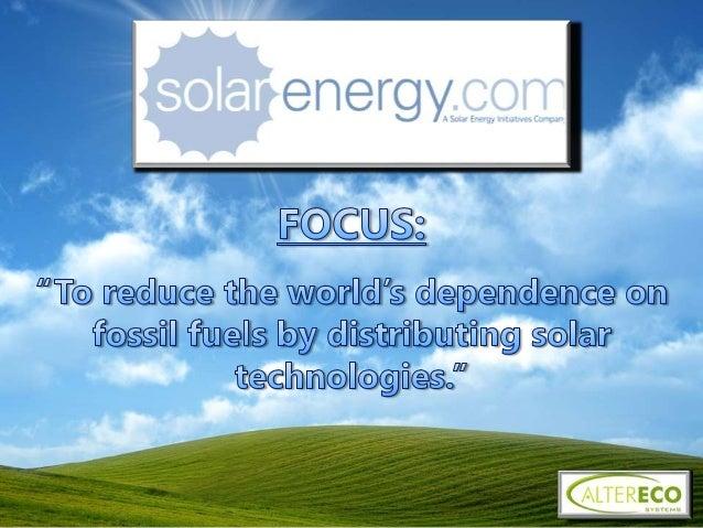 NASA- 36 KW photovoltaic Fakhoury- 25 KW photovoltaic U.S. Coast Guard- Solar Thermal Kenyon- 26 KW photovoltaic
