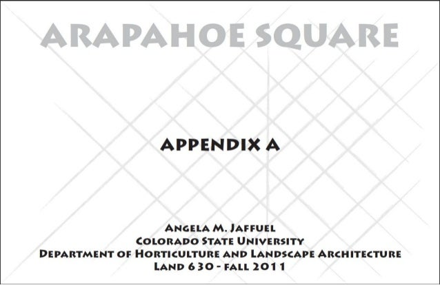 Arapahoe Square Homeless Shelter Proposal