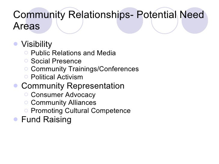 g organizational cultural competence community relationships 11