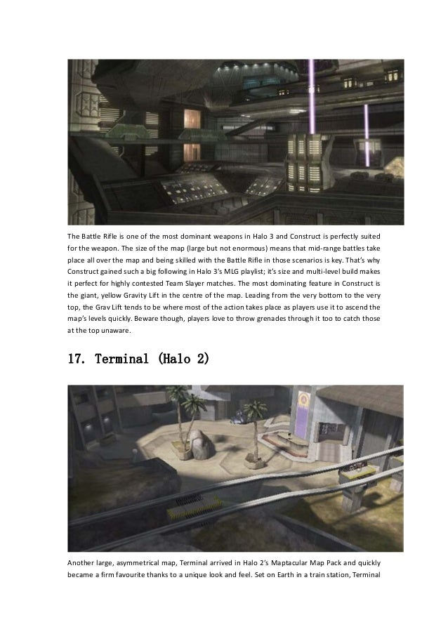 Halo the master chief collection – 25 legendary maps you