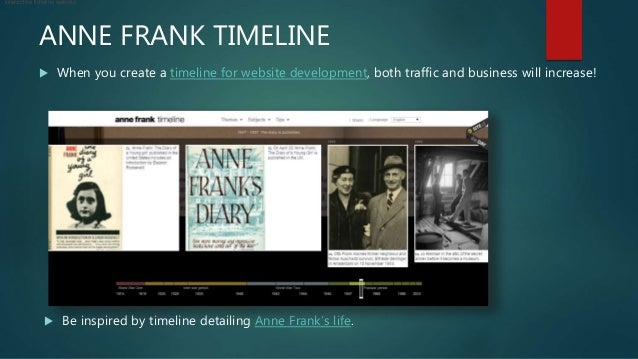 Gorgeous Samples Of Timeline Websites