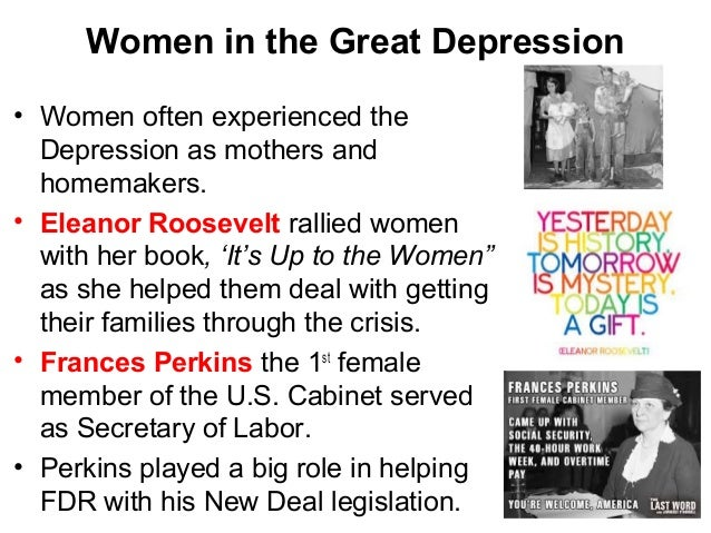 dealing with the great depression